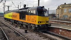 Colas Class 60 At Newcastle (Uktransportvideos82) Tags: colas class60 exdbs