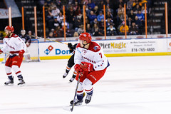 "Kansas City Mavericks vs. Allen Americans, February 24, 2018, Silverstein Eye Centers Arena, Independence, Missouri.  Photo: © John Howe / Howe Creative Photography, all rights reserved 2018 • <a style=""font-size:0.8em;"" href=""http://www.flickr.com/photos/134016632@N02/25629926587/"" target=""_blank"">View on Flickr</a>"
