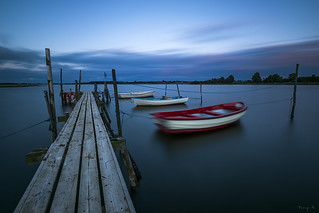 Blue hour on Horsens
