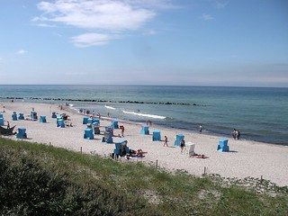 A summer day on the Baltic Sea near Prerow