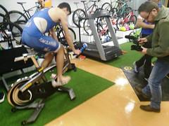 triatlón Indoor team clavería triatlón World 5