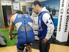 Jaime Rodado triatlón Indoor team clavería triatlón World 3