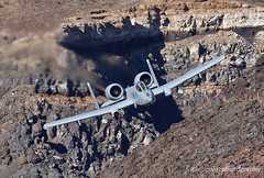 A-10s at Rainbow Canyon (Lebowitz Photography) Tags: a10 warthog rainbow canyon star wars jedi transition jet aircraft thunderbolt davis monthan releasethememo