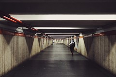 Urban solitude (Alessio Vincenzo Liquori) Tags: streetphotography streetphoto street fa31mmlimited pentaxk1 pentax subway urban city solitude