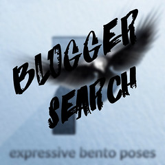 New round blogger search ! :) (zuzuna336) Tags: blogger search new bento poses expressivebentoposes store poster