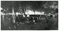 Night before confrontation over Vets encampment: 1971 (Washington Area Spark) Tags: vietnam veterans against war vvaw protest demonstration rally march anti indochina encampment national mall washington dc 1971 medals ribbons military ex servicemen civil disobedience