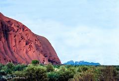 Ayers Rock and the Olgas-Australia (johnfranky_t) Tags: ayers rock olgas australia johnfranky t nikon fe uluru monolite bush m
