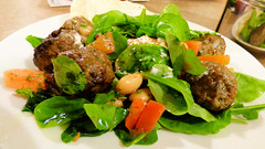 Northwest, Massey, Auckland, New Zealand (Sandy Austin) Tags: panasoniclumixdmcfz70 sandyaustin massey northwest auckland northisland casablanca greek salad newzealand