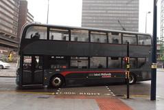NXWM 6865 @ Moor Street Queensway, Birmingham (ianjpoole) Tags: national express west midlands alexander dennis enviro 400mmc sn67wxe 6865 working platinum route 29 colmore circus birmingham new road holly hill