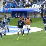 El Oviedo saliendo a calentar thumbnail