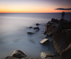 mondaymorningblues (J a s o n B o l d e r o) Tags: cokinnuances costadelsol guadalmina andalucia marbella sunrise 10stop sea water rocks longexposure