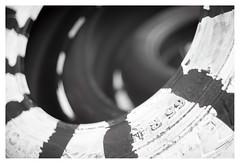 195 65 R15 (leo.roos) Tags: tire tyre band 19565r15 noiretblanc a7 fixedlens refitfordigital vastelens adaptedtoemount konishirokuhexanon4719 konica konicaautos darosa leoroos dayprime day47 dayprime2018 dyxum challenge prime primes lens lenzen brandpuntsafstand focallength fl xif