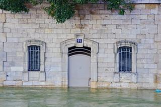 127 Paris en Février 2018 - Promenade Maurice Carême en face du Quai de Montebello