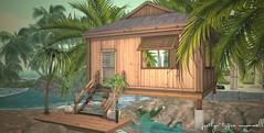.:take me away:. (jocelyntigra) Tags: gallandhomes fameshed interiordecor simdesign landscaping homesinsl homesecondlife lovetodecorate beach
