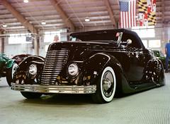 Beside the Dying Fire (krapow) Tags: 1936 36 400nc 645 80mmf28c ford jalopyrama kodak kodakportra400 mamiya mamiya6451000s portra car custom kustom
