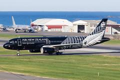 Air New Zealand Airbus A320 (Daniel Talbot) Tags: a320 airnewzealand airbus airbusa320 allblackslivery nzwn newzealand northisland speciallivery teikaamāui wlg wellington wellingtonairport wellingtonregion zkoab aircraft airplane airplanes airport aviation maker oceania plane transportation