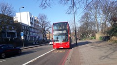 Abellio London 2432 SN61CYS | 3 (Unorm001) Tags: red london double deck decks decker deckers buses bus routes route diesel hybrid electric dieselelectric battery batteryelectric hybridelectric 2432 sn61cys sn61 cys