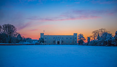 Snow Day - Syon House London by Simon Hadleigh-Sparks (Simon Hadleigh-Sparks) Tags: winter snow simonandhiscamera sky syonhousepark syonpark syonhouse syon middlesex london isleworth building brentford architecture cloud iconic outdoor weather park trees sunrise yellow