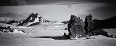 Iceland (a.penny) Tags: iceland troll nikon aw120 monochrome apenny hattfell