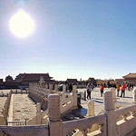 From the Gate to the Hall of Supreme Harmony Panorama thumbnail