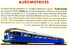 Renault Automotrices (1934) (andreboeni) Tags: train railway railroad railways cheminsdefer renault automotrice autorail railcar dmu autorails automotrices illustration publicity advert advertisement advertising advertissement