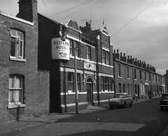 Negative No: 1969-2224 - Negatives Book Entry: 28-08-1969_TP & B_Brough Street West Gorton CPO_Planning Inquiry (archivesplus) Tags: manchester england 1960s townhallphotographerscollection redlionhotel pub fordanglia oldhouses