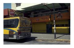 Yellow mellow (spacephoenix) Tags: film nikon fm2 nikkor35mmf28 color kodak portra160 vintage analogue photography street travel sanjose costarica