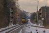 CSX Grain train at CP Wyvern (travisnewman100) Tags: csx train railroad freight unit grain control poing etowah subdivision atlanta division cartersville georgia snow ge ac44cw point