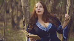 Poetry (Vincent Monsonego) Tags: sony α αlpha alpha ilce7rm2 a7rii a7r2 sonyalphadslr zeiss sonnar t fe 55mm f18 za fe55mmf18 fe55mm sel55f18z prime lens poetry book medieval dress armstreet portrait