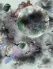 Abstract Space PS (Kathryn Ellis Photography & Design) Tags: abstract photoshop painting space birds brushes gray
