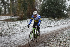 DSC_0031 (sdwilliams) Tags: cycling cyclocross cx misterton lutterworth leicestershire snow