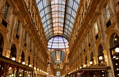 Milan (Slymue) Tags: milan victoremmanuel gallerie milano italia beautifulcity