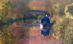 lazy days (jeff.white18) Tags: boat bridge water morning reflection cannel landscape flickr