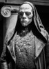 A masked and cloaked Death Eater. (f_gray1) Tags: london harry potter death eater masked mask cloaked monochrome black white photo photograph photography