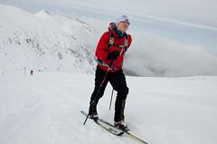 Podejście na Kasprowy z Doliny Goryczkowej na nartach BC (Biegówki pod Tatrami) Tags: tatry zima backcountry bc śnieg narty skiing narciarz giewont the mountains skier lyžař běžky biegówki