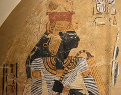 Superior ... The Deified Queen Ahmose Nefertari, From A Tomb; 1186 1070 BCE; ...