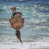The Clown Acrobat (GLN IMAGES) Tags: clown acrobat beach backflip ocean cottesloe australia circus