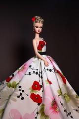 Silkstone Barbie (SeloJ Spa) Tags: joncopeland selojspa ginnyliezert gown silkstonebarbie barbie barbiedoll silkstone fashiondoll makeup hairstyle mattel