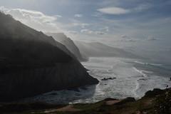 Zumaia (justonechance) Tags: cliffs ocean sea mist water nature spain paisvasco acantilados basquecountry brumamarina euskadi zumaia marcantabrico naturaleza