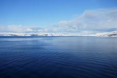 Looking back as we leave Kirkenes (kim kim) Tags: hurtigruten norway arctic