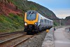 221xxx @ Dawlish (A J transport) Tags: class221 dmu supervoyager crosscountry diesel railway trains