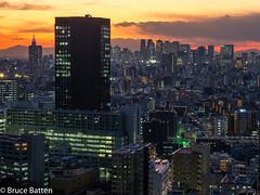 180112 Bunkyo Civic Center-05.jpg (Bruce Batten) Tags: night locations sunsets urbanscenery honshu cloudssky atmosphericphenomena buildings subjects tokyo japan bunkyōku tōkyōto jp