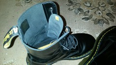 20170918_200023 (rugby#9) Tags: drmartens boots icon size 7 eyelets doc martens air wair airwair bouncing soles original hole lace docmartens dms cushion sole yellow stitching yellowstitching dr comfort cushioned wear feet dm 10hole black 1490 10 docs doctormarten footwear boot indoor macro shoe