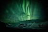 Svínafellsjökull (LalliSig) Tags: landscape iceland winter svínafellsjökull glacier northern lights green sky night nightscape