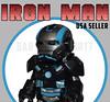 Black Armor Iron Man (Babylon Import) Tags: avengers infinity war iron man custom minifigure lego super heroes marvel tony stark