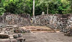 Siem Reap ruins (Raúl Alejandro Rodríguez) Tags: rarb1950 ruinas ruins piedras stones drystone vegetación vegetation selva jungle árboles trees siem reap camboya cambodia
