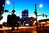 1 (8) (Rainer Quesada Photography) Tags: losangeles night nightphotography urban city downtown draggingshutter lightstreaks photoshop architecture buildings street streetlights usa southerncalifornia framing light