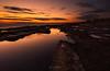Sunset Explosion (Alex Apostolopoulos) Tags: bulb longexposure rockformations sunset clouds rocks seascape sky