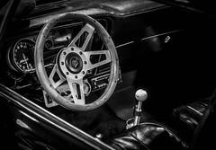 IMPORTFEST 2017 (Dave GRR) Tags: vehicle auto interior classic vintage antique show importfest canada 2017 black white monochrome olympus omd em1 1240