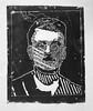 """""""Les revenants"""" Portrait ouvrier indus project (APGalerie) Tags: collègegeorgesanddhuriel gravure ouvriers montluçon métallurgie mine industriel usine portrait"""